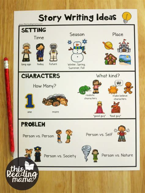 story themes for toddlers story writing ideas for kids free pack this reading mama