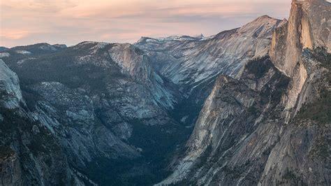mc wallpaper glacier point sunset yosemite mountain