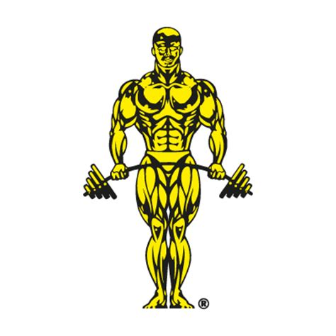 Gold's Gym logo vector in (.EPS, .AI, .CDR) free download