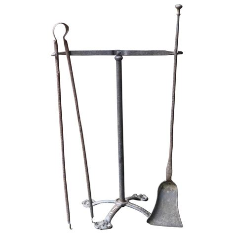Fireplace Tool Set Sale by 19th Century Tool Set Fireplace Tool Set For Sale At 1stdibs
