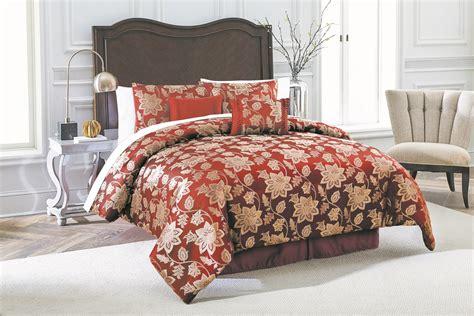 sears comforter sets queen burgundy comforter set sears com