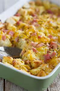 ham and cheese breakfast casserole recipe taste and tell