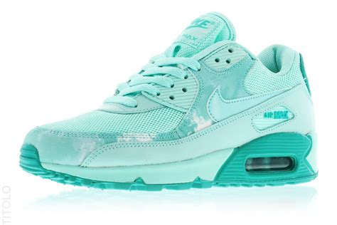 Nike Airmax90 1 Air Max 90 Aqua And White Heavenly Nightlife