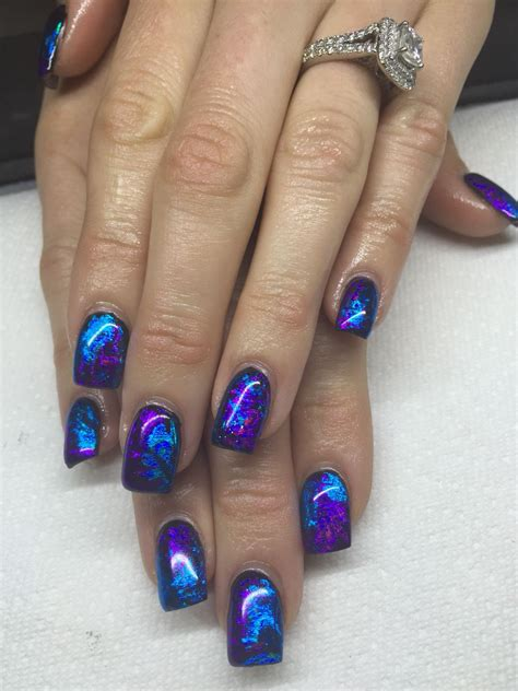 Nail Foil by Gel Nails With Transfer Foils By Fox Expensive