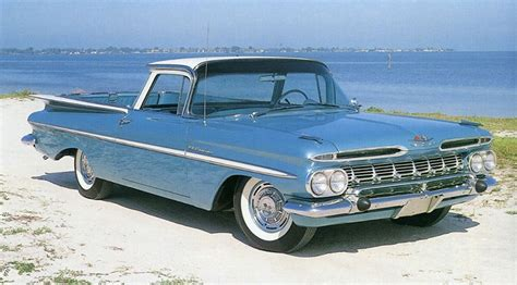 Chevrolet El Camino Early Years   New Automotive Trends