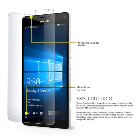 Microsoft Lumia Premium microsoft lumia 950xl tempered glass screen protector