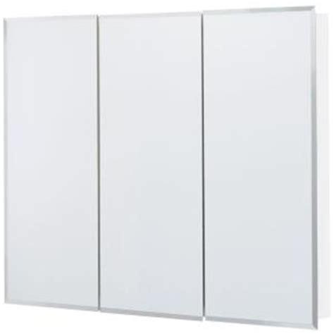glacier bay tri view surface mount medicine cabinet 094803019628 upc glacier bay 36 in x 29 in frameless