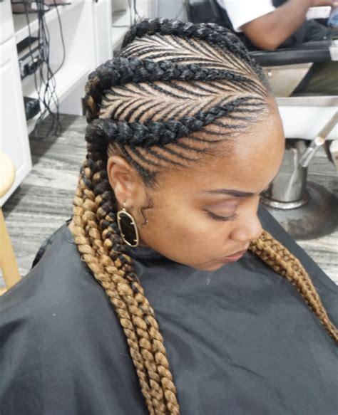 30 beautiful fishbone braid hairstyles for black