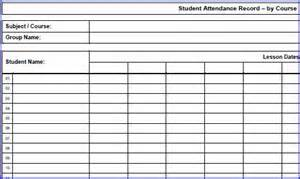 Search results for free printable attendance sheets calendar