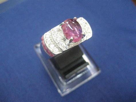 Cincin Perak 925 Ruby cincin perak 925 model oval dengan permata ruby asli buyungdasriljgc