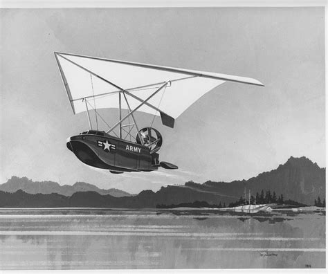 airboat with wings ryan flex wing flying boat for the army aerospace