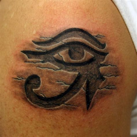 eye of horus tribal tattoo 25 best ideas about horus on