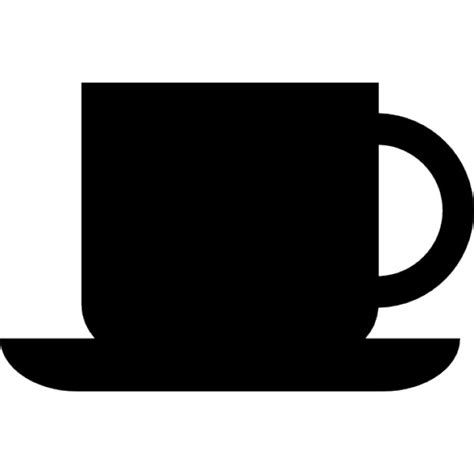 coffee cup silhouette coffee cup silhouette icons free download