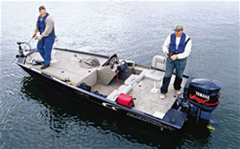 alumacraft bass boat reviews bass walleye boats top guns part i boats