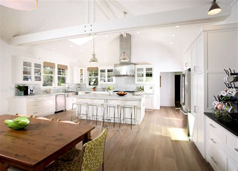 raised kitchen ceiling designs kitchens with vaulted exposed beam vaulted ceiling kitchen traditional with