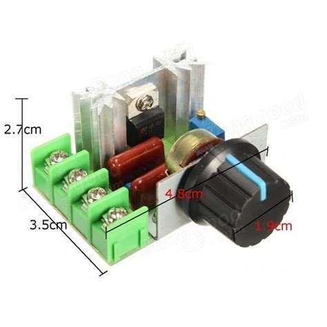 2000w Voltage Regulator Dimmer Motor Speed Controller 2000w 220v ac voltage regulator moto end 5 16 2019 2 15 pm