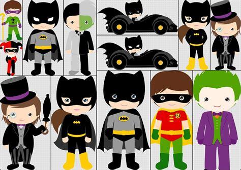 como decorar cajas de carton para 15 años personajes y villanos de batman ni 241 os kit gratis de