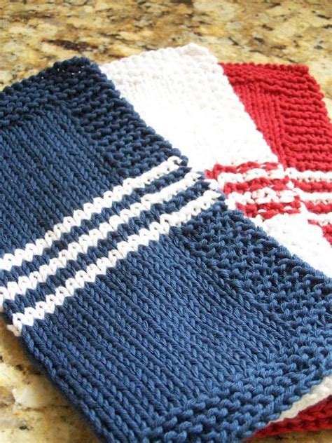 waffle knit dishcloth pattern en francais delorme designs french stripe dishcloth knitting