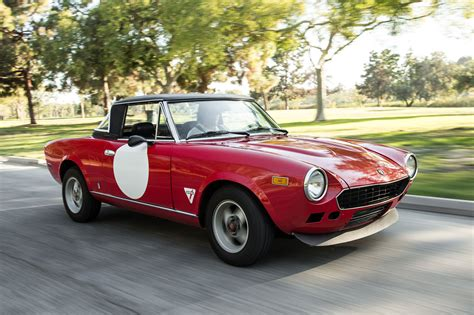 old fiat collectible classic 1968 1985 fiat 124 spider