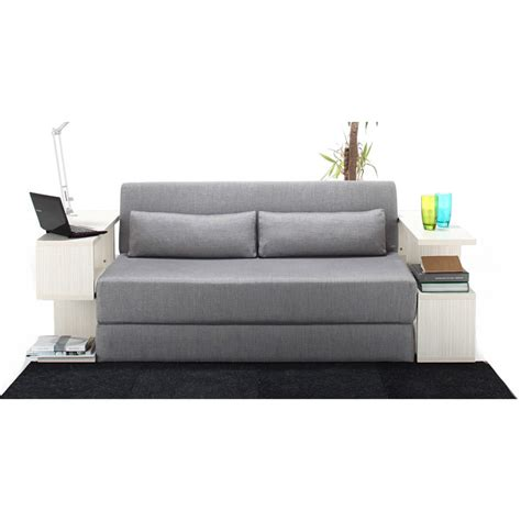 Sofabed Wellington Light Light Grey seatpacking sofa bed light grey nyfu touch of modern