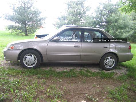 Blue Book Value 2001 Toyota Corolla 2001 Toyota Corolla Ce Specs