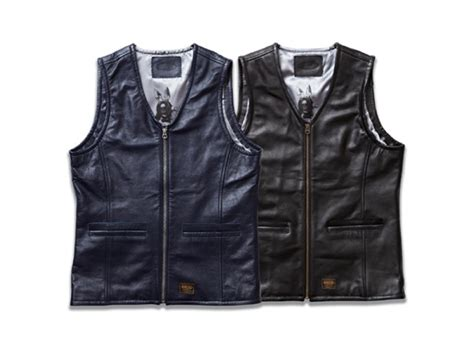 Rhythm Fi1608l 02 Leather Black qee blog fuct ssdd leather vest