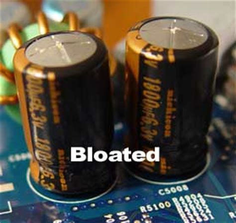 how do you if a capacitor is bad bad caps