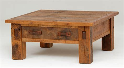 Reclaimed Barnwood Coffee Table   Rustic   Coffee Tables   Other   by Woodland Creek Furniture
