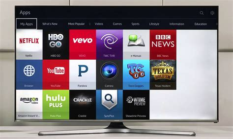 Tv Samsung J5500 review samsung j5500 series hd smart tv with freeview hd hughes
