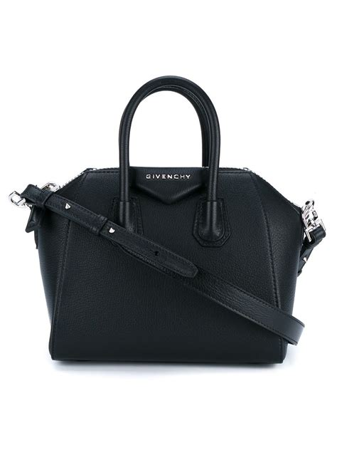 Givenchy Antigona Mini Bag givenchy mini antigona bag in black lyst