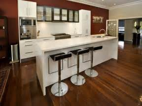 Modern galley kitchen design using floorboards kitchen photo 502359