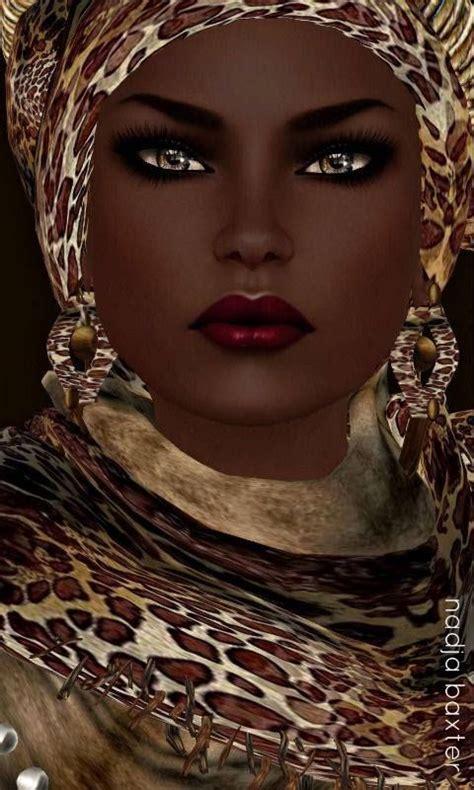 black queen art black art nubian queen