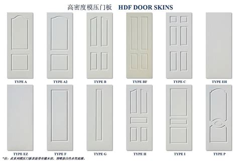 door skin hdf moulded door skin white primed wood veneer xiamen