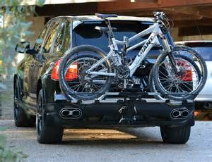 Bike Rack For Porsche Cayenne Isi Advanced 4x4 Bicycle Carrier And Bike Rack Systems