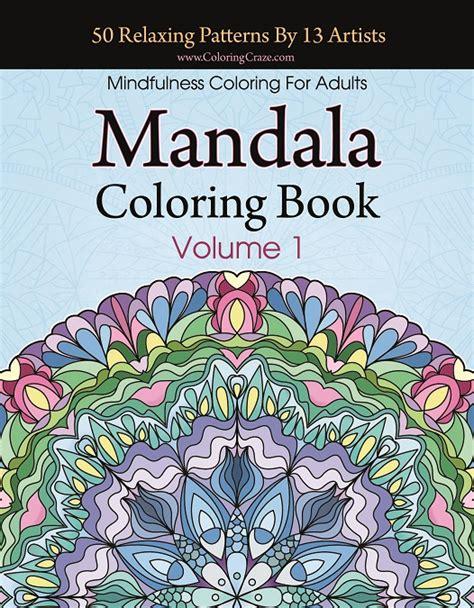 mandala coloring book volume 1 books coloringcraze