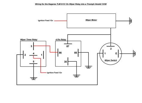 intermittent wiper relay diagram intermittent get free