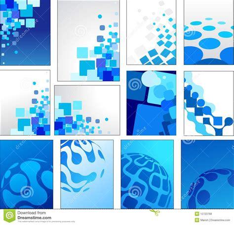 imagenes abstractas en azul fondos azules geom 233 tricos del vector fotos de archivo