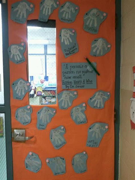 Dr Seuss Door Decorating Contest by Top 25 Ideas About Horton Hears A Who On Horton Hears A Who Dr Seuss And