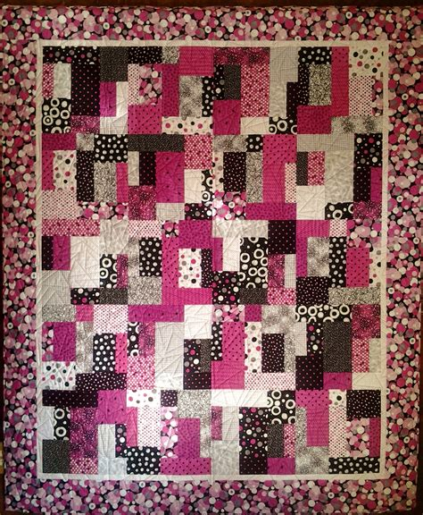quilt pattern rectangles rectangles gone square