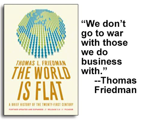 The World Is Flat Oleh Friedman eugene marlow the shape of society