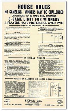 how to play table shuffleboard how to play table shuffleboard right poster by