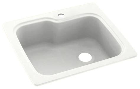 swan 25x22x9 solid surface kitchen sink 1 kitchen