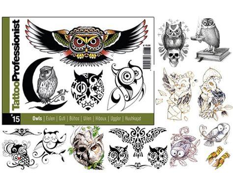 tattoo flash books canada pro owls flash book 15 professionist flash books