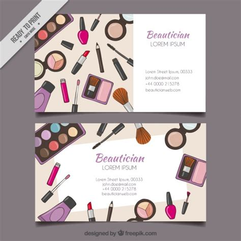 imagenes para uñas hand drawn maquillage outils carte esth 233 ticienne