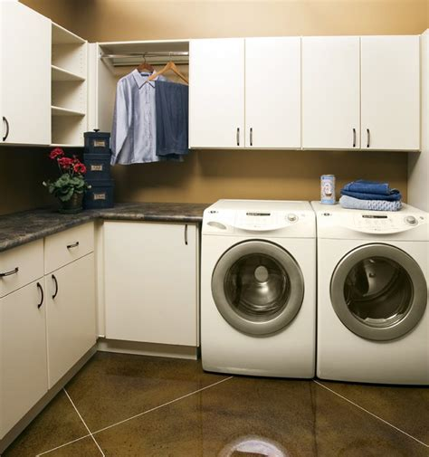 Laundry Room Storage Solutions   Classy Closets