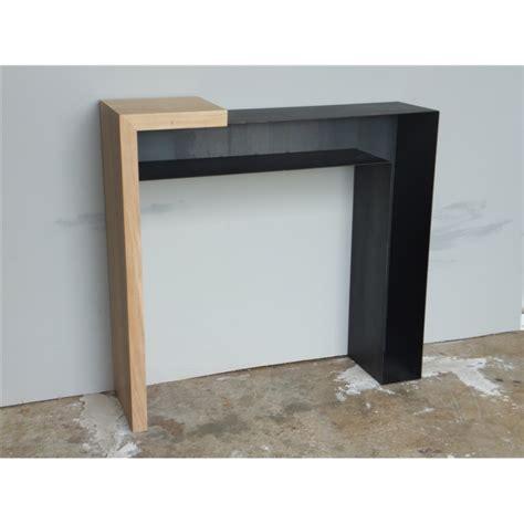 console design console design bois et m 233 tal konnect atelier mobibois