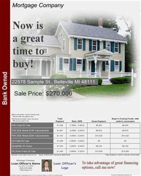 free mortgage flyer templates mortgage flyers software real estate flyers open
