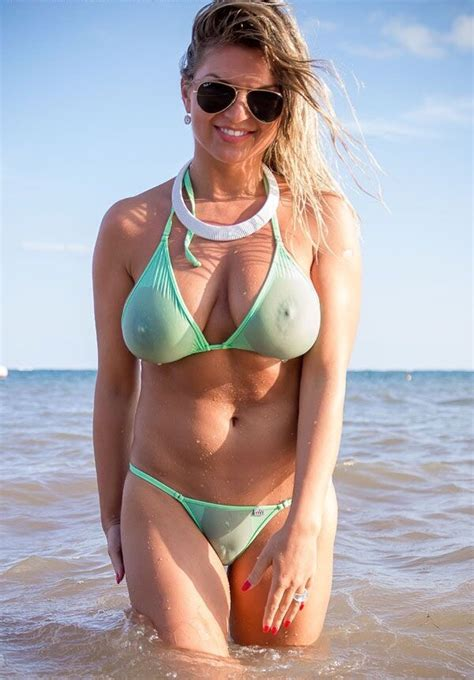 women in see through bikinis love the quot oopsie quot look of this bikini great for showing