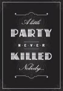 Prohibition Christmas Party - fiesta el gran gatsby actitudfem