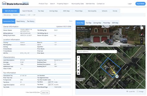 new themes sis nj tax maps property tax records download property reports